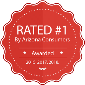 Rated #1 By Arizona Consumers